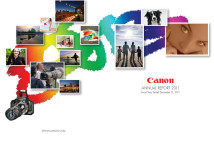 Canon Annual Report Cover